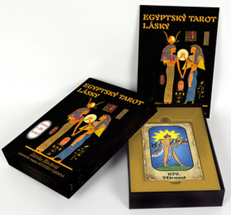 Egyptský tarot lásky (kniha + 24 karet) - Zdenka Blechová