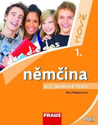 Němčina pro jazykové školy nově 1 UČ + mp3 ke stažení