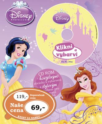 Disney Princezny Omalovánky s CD