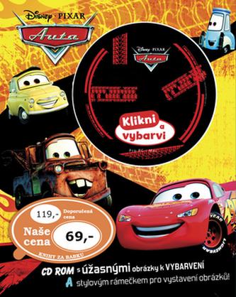 Auta Omalovánky s CD