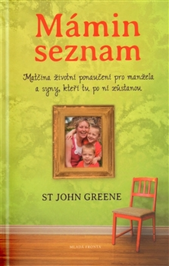 Mámin seznam - Emotivní příběh psaný životem - John Green