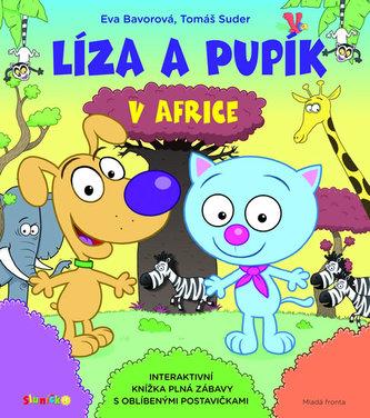 Líza a Pupík v Africe - Bavorová Eva