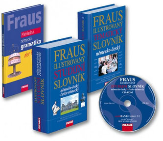 FRAUS studijní komplet 4 v 1, německý jazyk - Kolektiv Autorů