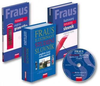 FRAUS studijní komplet 4 v 1 - anglický jazyk
