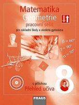 Matematika 8 pro ZŠ a víceletá gymnázia - Geometrie - pracovní sešit