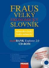 Komplet 2ks Velký ekonomický slovník německo-český česko-německý + CD ROM