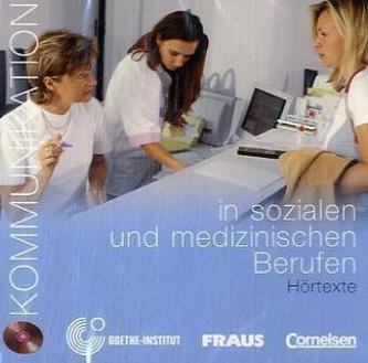 Kommunikation in sozialen und medizinischen Berufen, 1 Audio-CD