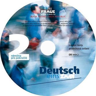 Deutsch eins, zwei 2 CD /1ks/ - Helena Hanuljaková