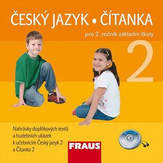 Český jazyk/Čítanka 2 pro ZŠ - CD /2ks/