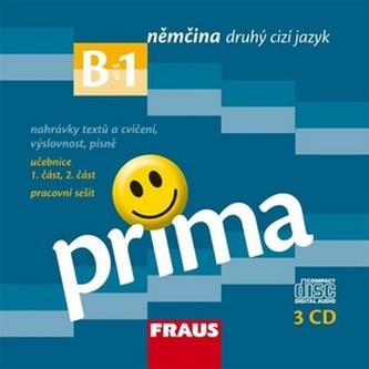 Prima B1/díl 5 - CD k učebnice + pracovní sešit /3ks/