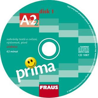 Prima A2/díl 4 - CD k učebnice /2ks/
