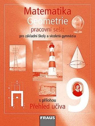 Matematika 9 pro ZŠ a víceletá gymnázia - Geometrie - pracovní sešit