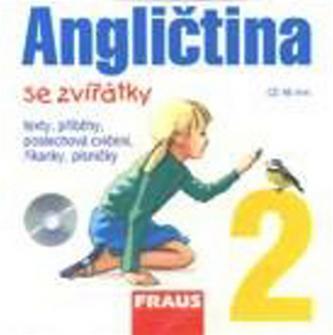 Angličtina se zvířátky 2 - CD /1ks/