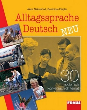 Alltagssprache Deutsch - neu, 30 moderních konverzačních témat - Náhled učebnice