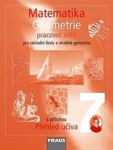 Matematika 7 pro ZŠ a víceletá gymnázia - Geometrie - pracovní sešit