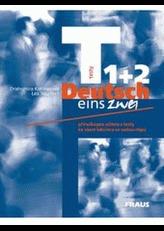 Deutsch eins, zwei - testy 1 + 2