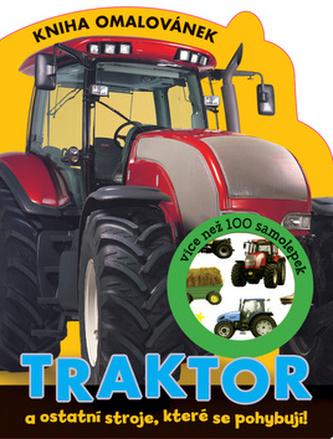 Traktor - Kniha omalovánek
