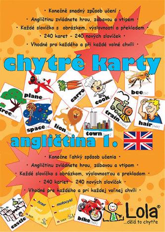 Chytré karty - Angličtina slovíčka 1