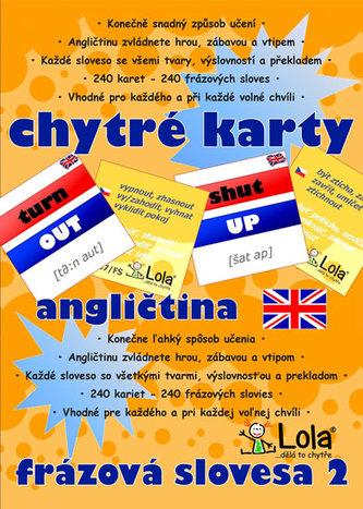 Chytré karty - Angličtina frázová slovesa 2