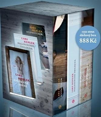 Kepler box - Případy komisaře Joony Linny 1-3