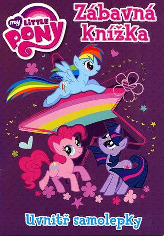 My Little Ponny - Zábavná knížka, uvnitř samolepky