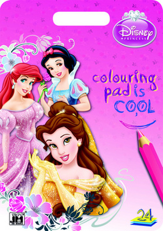 Princezny Colouring pad is cool