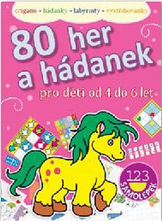 80 her a hádanek pro děti od 4–6 let