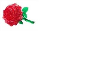 Růže - 3D Krystal puzzle