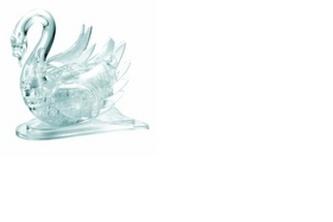 Labuť - 3D Krystal puzzle