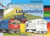 Lokomotivy - didaktické omalovánky
