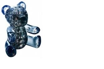 Medvídek Teddy - 3D Krystal puzzle