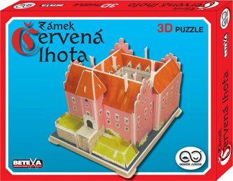 Červená lhota - 3D puzzle