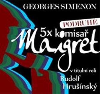5x komisař Maigret podruhé - 5CD - Georges Simenon