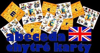 Chytré karty - Angličtina abeceda