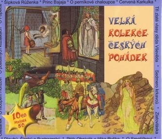 Velká kolekce českých pohádek - 10CD