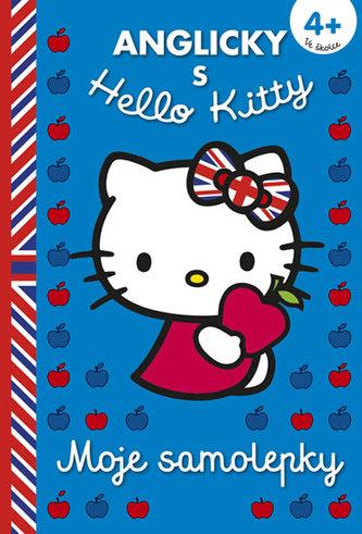 Moje samolepky 4+ (angličtina s Hello Kitty)
