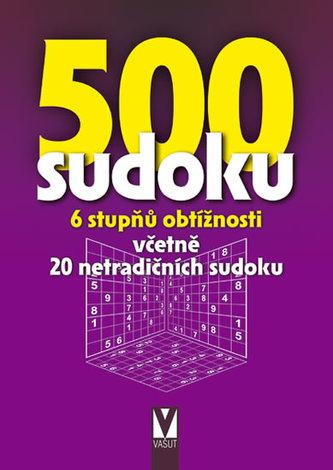 500 sudoku - 6 stupňů obtížnosti