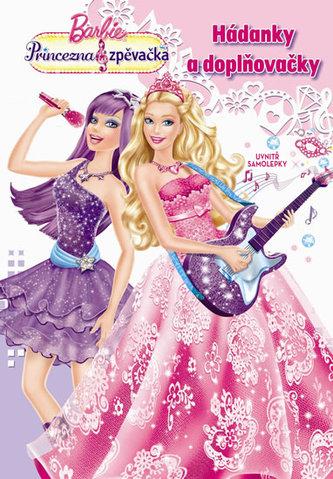 Barbie. Princess and Popstar. Activity se samolepkami