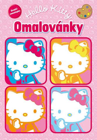 Hello Kitty. Omalovánky se samolepkami (2012-106)