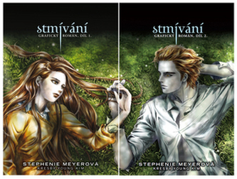 Twilight - grafický román I. A II. Díl - krabice