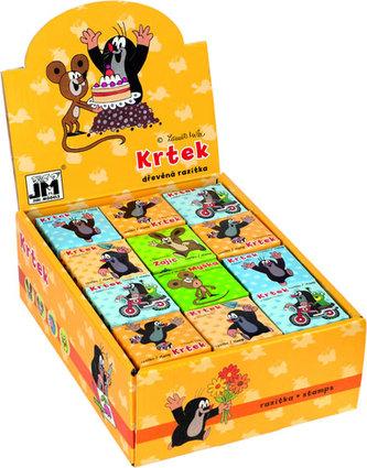 Krtek - Razítko v krabičce