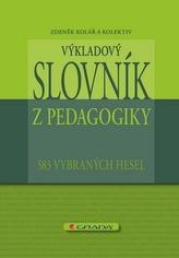 Výkladový slovník z pedagogiky - 583 vybraných hesel