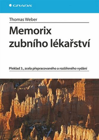 Memorix zubního lékařství - 3. vydání