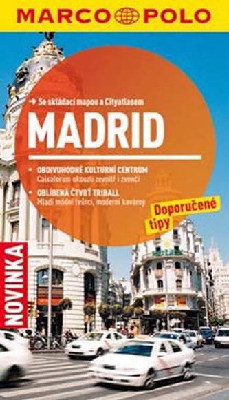 Madrid - Průvodce se skládací mapou - neuveden
