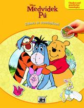 Medvídek Pú - Zábava se samolepkami