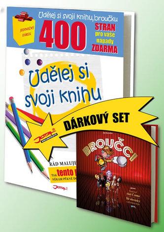 Udělej si svoji knihu + Broučci (Dárkový set 2 knihy)