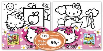 Hello Kitty Malování na plátno - neuveden