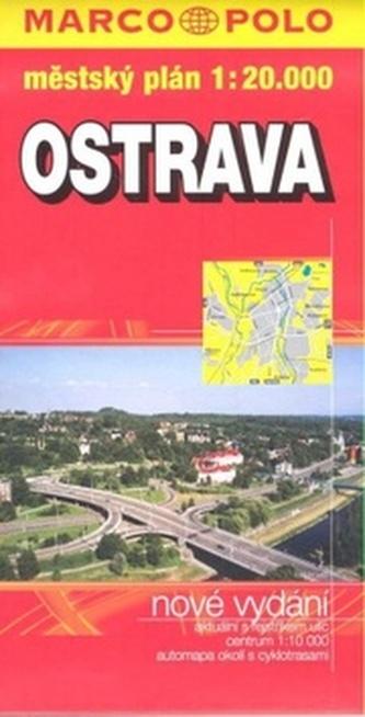 Ostrava - plán měkká obálka PS 1:20 000