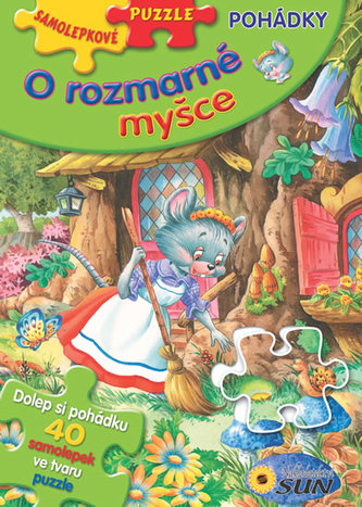 Samolepkové puzzle O rozmarné myšce
