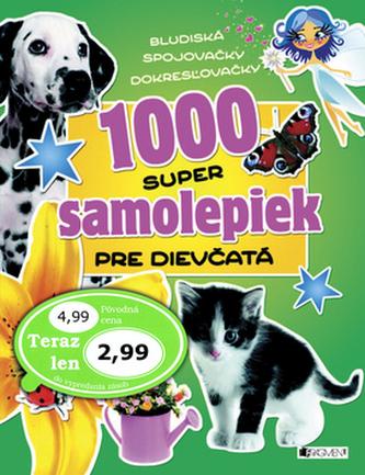 1000 super samolepiek pre dievčatá